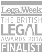Finalist for Litigation and Dispute Resolution Team of the Year
