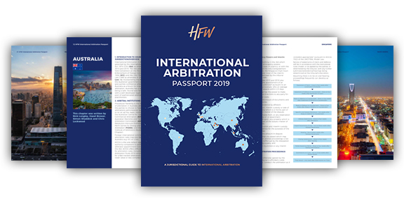 HFW International Arbitration Passport