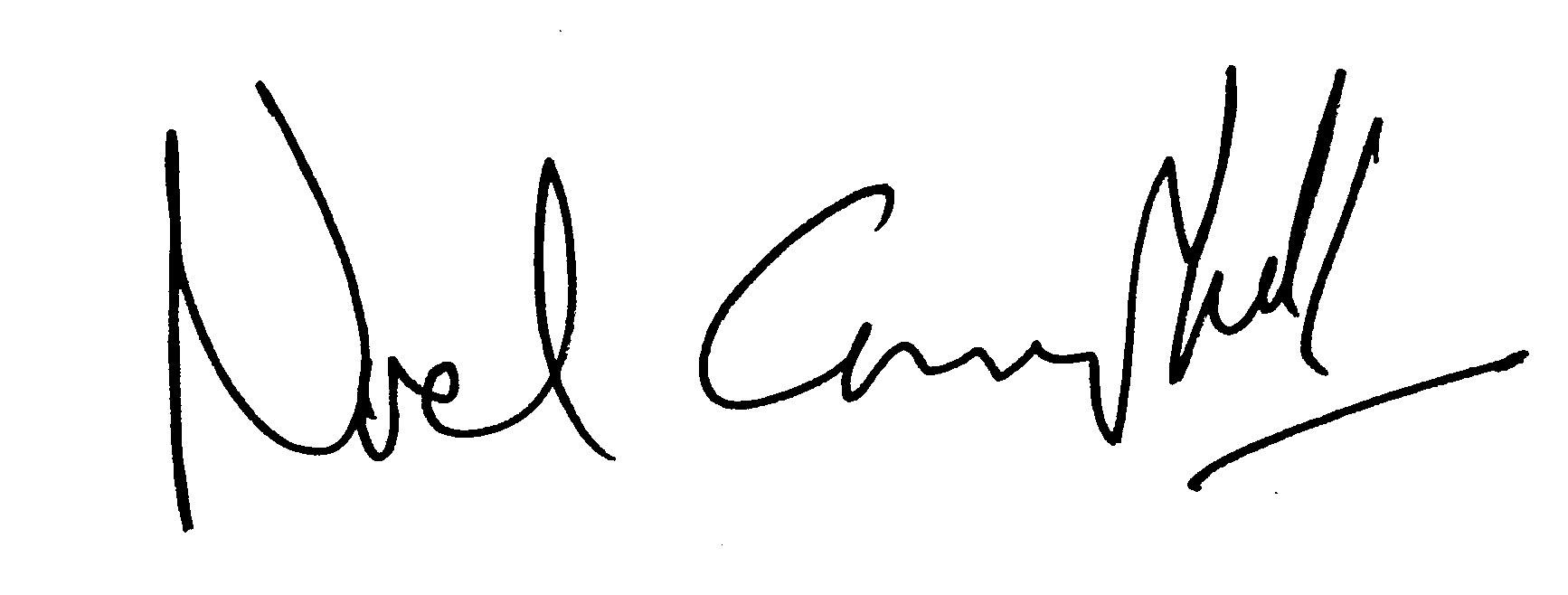 Noel Campbell Signature